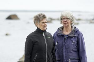 Christina Åström närmar sig pensionen och Margareta Örn-Liljedahl har nyligen kommit dit.