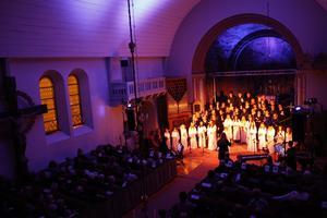 Luciakonsert i Sura kyrka