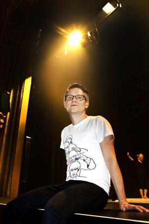 """STANNAR I STAN. Max Hebert är upplärd inom                      det lokala teaterlivet och planerar att stanna kvar i Gävle som """"har ett bra kulturliv""""."""