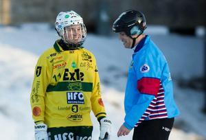 Jonatan Sundberg i Ljusdals tröja från säsongen 2015/16.