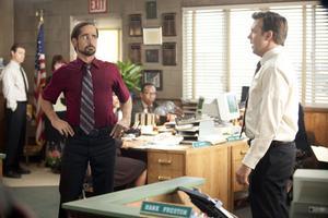 Kolla in Colin. Colin Farrells sleazy boss är bäst, Jason Sudeikis spelar bussig underhuggare.