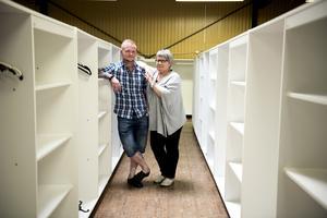 Anton Byström och Tina Löfgren jobbar redan i huset som dataansvarig respektive ekonomiansvarig.