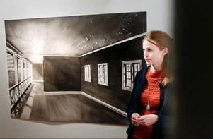 Fjolårets Härkestipendiat Kristina Bength ställer ut på Ahlbergshallen.