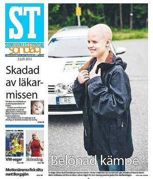 I våras opererades Oliver Byström för en hjärntumör och en period med tuffa behandlingar följde.