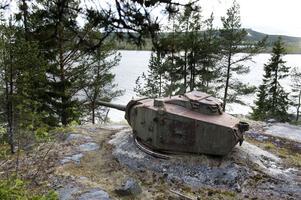 Kanonstationen som vaktade Sundsvall.