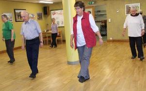 Linedans är populärt, det är roligt, lagom svårt och man får mation. Foto: Eva Högkvist