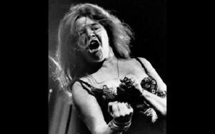 Janis Joplin uppträder på Newport folkfestival 1968. Det är 40 år sedan.FOTO:SCANPIX