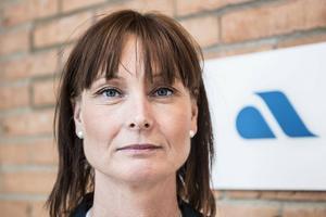 Therese Sjögren, chef  vid arbetsförmedlingen i Västernorrland.
