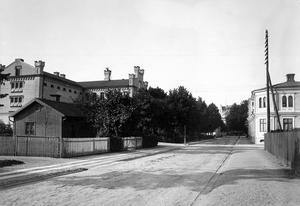 Fängelset från Slottsgatan, 1902.