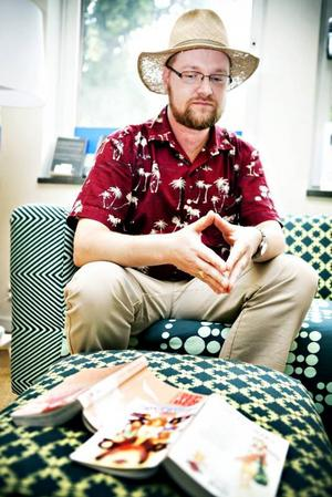 """Daniel Gustavsson beskriver sig själv som """"Manganörd"""". Han och andra protesterar nu mot att en man fällts för att ha haft nakna Mangafigurer i sin dator."""