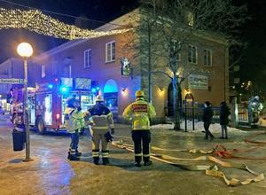 Branden i restaurang Akropolis i Bollnäs anlades den 10 februari 2015.