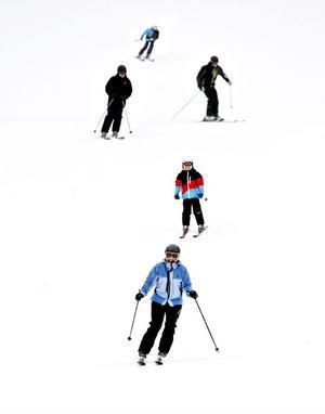 Den tidiga vintern har gjort att det redan är fritt fram att ge sig ut i Kungsbergs pister.