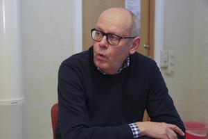 Kommunens näringslivschef Lars-Åke Josefsson har inga kommentarer om Lyviksberget.