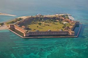 Fort Jefferson vid Dry Tortugas.