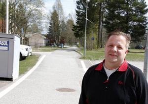 Markus Sjöström hoppas på att det blir en uppskattad dag som kanske kan bli tradition i Bergeforsen.