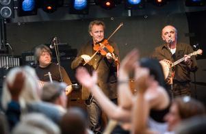Tullamore Brothers var det första av veckans alla band som uppträdde på Slottsfesten.
