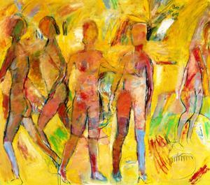 Leif Öhr kan sin impressionism, på Härke visar han just nu ett antal stora och somriga dukar som gläder vår recensent, som också noterar att konsten och kulturen visar sin bredd i stan.