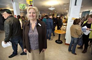 Charlotte Humling, chef för Arbetsförmedlingen i Gävle.