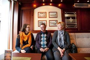 Anneli Thylin, Olle Johansson och Susanne Takula är tre av cirka 80 nya beslutsfattare inom Sandvikens kommun som nu skolas in i uppdraget.
