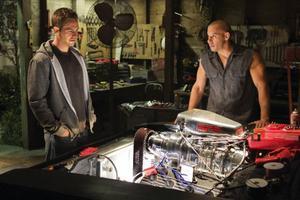 I den fjärde filmen om bilbusen Dom Toretto utvecklas Vin Diesels rollfigur ytterligare.Foto: Press