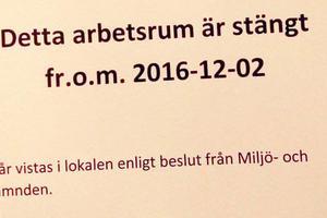 Miljö- och bygg-nämnden har stängt flera lokaler på skolorna i Sveg.