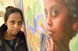 """Vill bli sjuksköterska. Luwam Eyob, 16 år, har en plan för sin framtid. """"Först ska jag lära mig svenska. Sedan ska jag studera till sjuksköterska"""", säger hon."""