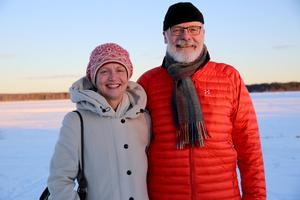 Många känner till oss, berättar Tomas Carlsson, ordförande och Eva Nordfjell ledamot i Kulturföreningen Lyran.