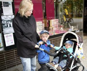 Det har Sofie Sundqvist med barnen Ludvig, 3, och Simon, 1.