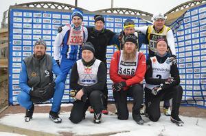 Tillsammans körde skidåkarna in över 60 000 kronor till Cancerfonden.