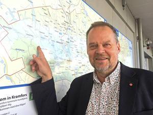 Kommunalrådet Jan Sahlöén (S)  förlorar nu möjligheten att använda världsstjärnan Sandra Näslund för att sätta Kramfors kommun på kartan.