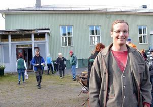 Ingvar Hansson är ny ordförande i bygdegårdsföreningen i Klövsjö. Han kämpar nu med att få till att föreningen ska kunna använda lokalen fullt ut.