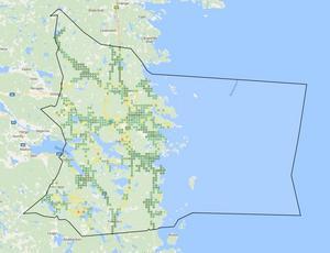 Telias 4G nät ger en annorlunda bild över täckningen i kommunen.