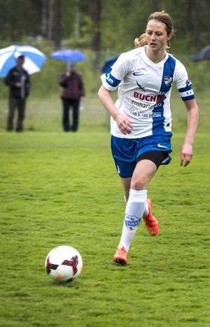 Kaptenen Malin Persson i derbyt mot Heffners.