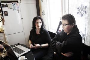 Catarina och Christopher Sjödén var en hårsmån från att bli vräkta.