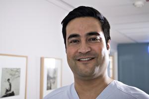 Habibullah Haziq har fått svensk läkarlegitimation, nu är målet att bli allmänspecialist.
