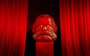 Karl Marx åter i ropet. Bilden är från den nya tyska musikalen Comeback! The Karl Marx Musical. Foto: Jens Meyer