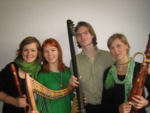 Renässans- och barockmusik med West Quartet inviger årets program av Musik vid Dellen, på Ol-Ers i Västeräng, Delsbo.
