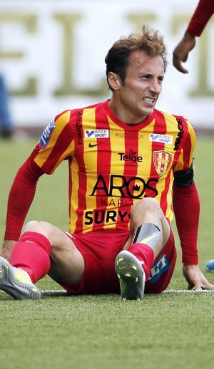 Det återstår att se om VSK-fansen kommer att få se Lolo Chanko på planen efter hans knäbekymmer.
