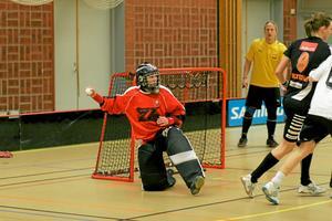 Frida Färnqvist var bra i målet. Foto: Niclas Bergwall