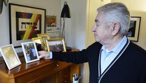 Tobias Rawet byggde upp ett nytt liv i Sverige efter Andra världskriget. Han och frun Monica fick tre barn. I dag har de nio barnbarn.
