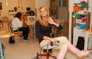 Nu jobbar Anna Lundh på Dagcenter och terapin på Tallbackens äldreboende. Och bor i Brunnsberg.
