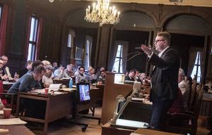 Viktor Wärnicks föreslog ett tilläggsyrkande, som kommunfullmäktige sa nej till.