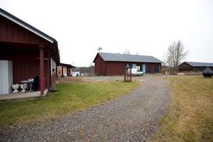 Ladan som byggts om till bryggeri i Jädraås.