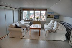 På plats sju på Klicktoppen för vecka 44, sett till de populäraste dalaobjekten på Hemnet, finns denna villa på Blindgatan i Falun.