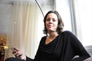 Malin Sjöström är redan i full fart med nästa studie. Den här gången är det inkontinensträning med hjälp av app som ska undersökas.