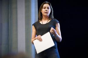 Mija Kinning föreläste om inredning och visade exempel från