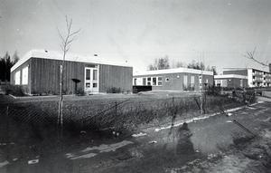 Bjurhovda västra barnstuga 27 februari 1976.