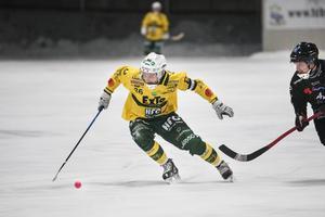 Jens Hermansson tycker att det har fungerat bra att vara lagkapten.