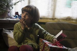 Julklapparna var väldigt uppskattade bland barnen i  Gaujiena.