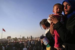 60 miljoner människor, 30 miljoner av dem barn, är just nu på flykt.